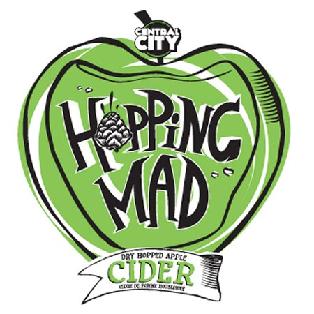Central City Entering Premium Cider Market With Hopping Mad Dry Hopped Apple Cider