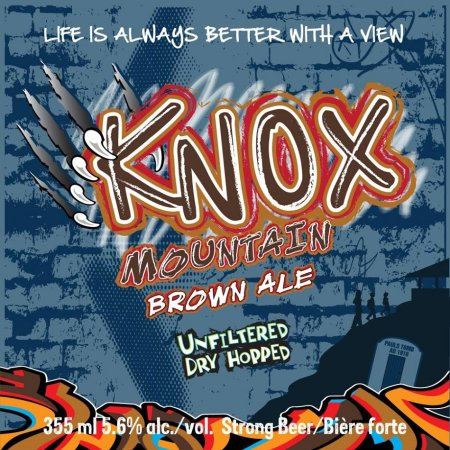 Tree Knox Mountain Brown Ale Returning in Raw Series