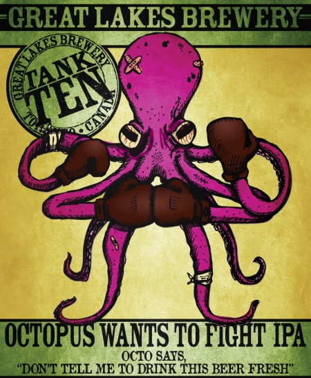 Great Lakes Octopus Wants To Fight IPA Coming to LCBO