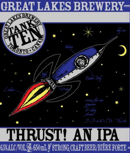 Great Lakes THRUST! An IPA Coming Soon to LCBO