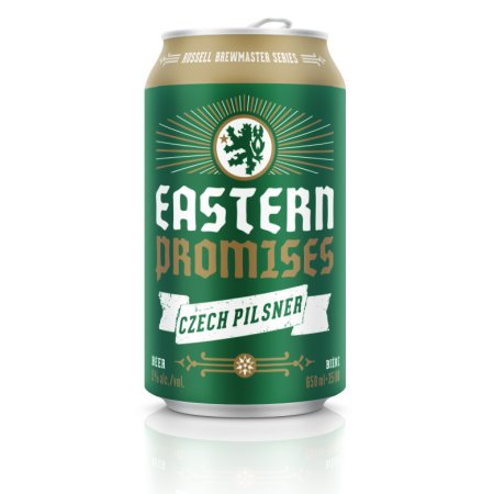 Russell Eastern Promises Pilsner Now Available in Cans