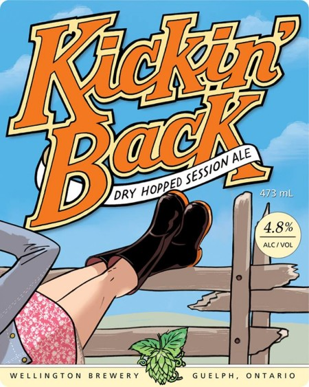 Wellington Continues Welly One-Off Series With Kickin' Back Session Ale