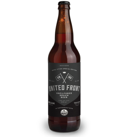 BC Craft Brewers Guild Collaboration Series Continues with Vancouver Island/Steel & Oak United Front
