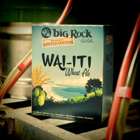 Big Rock Brewmaster's Edition Series Continues with Wai-iti Wheat Ale