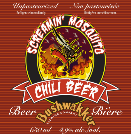 Bushwakker Screamin' Mosquito Chili Beer Series Returns for 2017