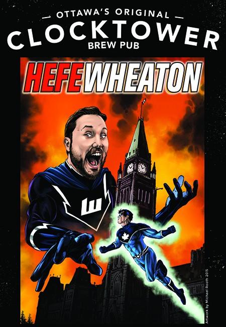 Clocktower Brewpub & Wil Wheaton Collaborate on Beer for Ottawa ComicCon