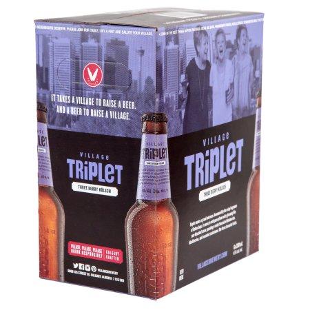 Village Brewery Announces Triplet Three-Berry Kolsch as Newest Seasonal