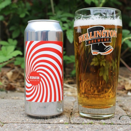 Wellington Continues Welly One-Off Series With Resinator American IPA