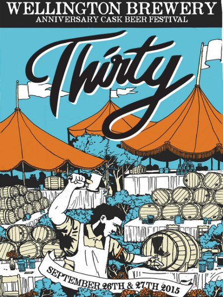 Wellington Brewery Announces Details for 30th Anniversary Cask Festival