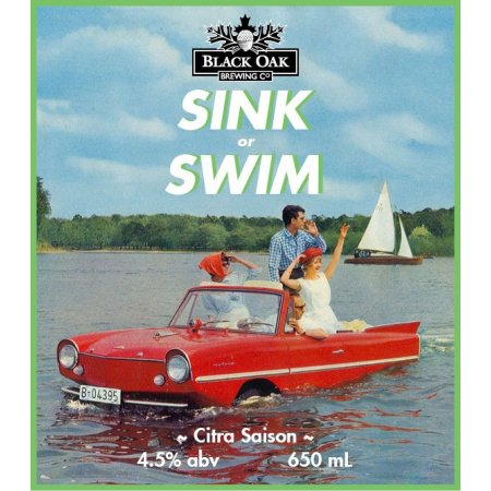 Black Oak Brings Back Sink or Swim Citra Saison