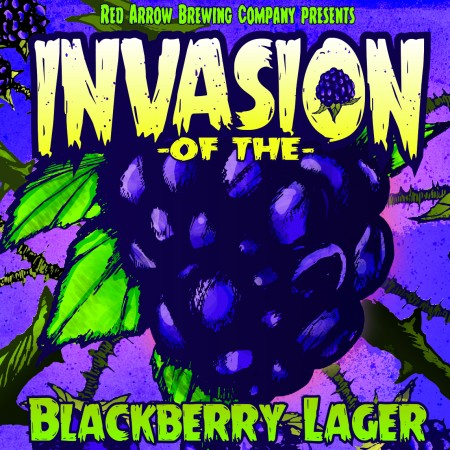 Red Arrow Unleashes Invasion of the Blackberry Lager