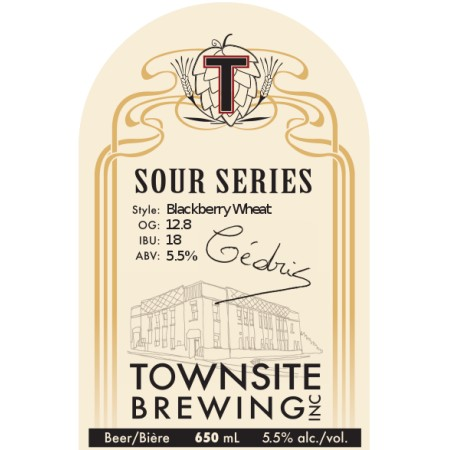 Townsite Sour Series Continues With Blackberry Wheat