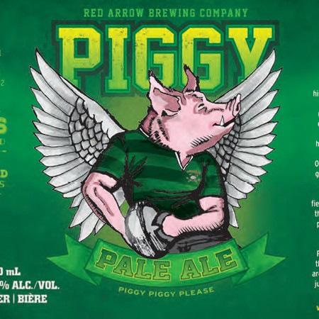 Red Arrow Releasing Piggy Pale Ale in Partnership with Cowichan Rugby Football Club