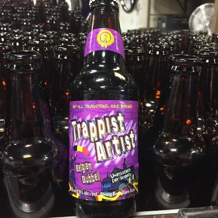 Tree Trappist Artist Belgian Dubbel Now Available