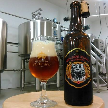 Distillerie Fils du Roy North Shore Regiment Barley Wine Now Available