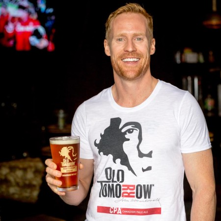 Old Tomorrow Collaboration Beer with Jon Montgomery Launching at LCBO This Week