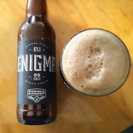 Powell Street Enigma Stout Coming This Week