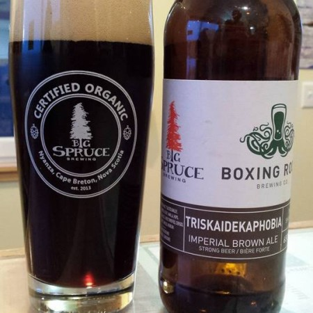 Big Spruce & Boxing Rock Release Triskaidekaphobia Imperial Brown Ale