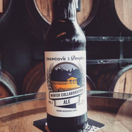 Deep Cove & Persephone Release Winter Collaboration Ale