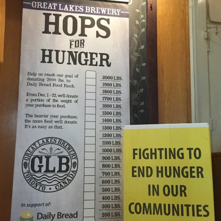 Great Lakes Brewery Launching 2017 Hops For Hunger Campaign