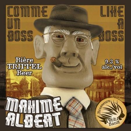 Les Brasseurs du Petit-Sault Releasing Maxime Albert Trippel
