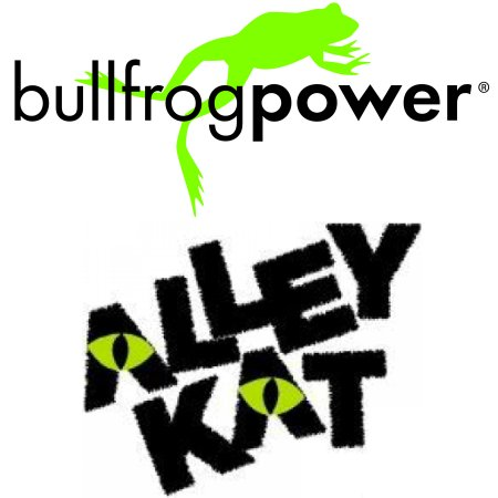 Alley Kat Brewery Announces Partnership With Bullfrog Power