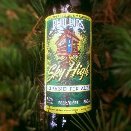 Phillips Releases Sky High Grand Fir Ale