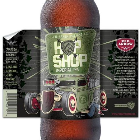 Red Arrow Releases Hop Shop Imperial IPA
