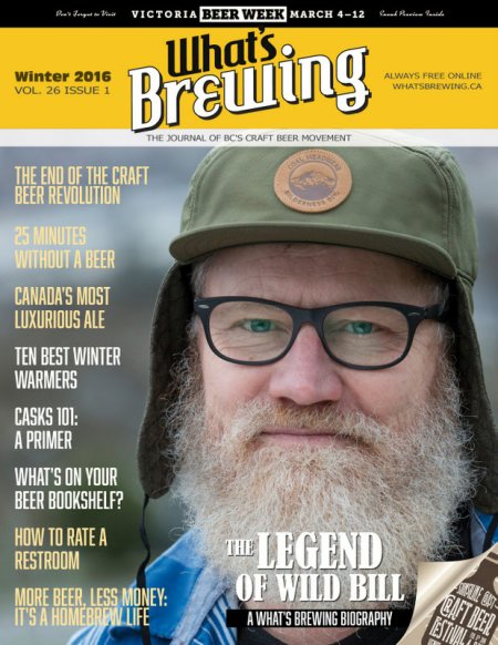 What's Brewing Winter 2016 Issue Now Available