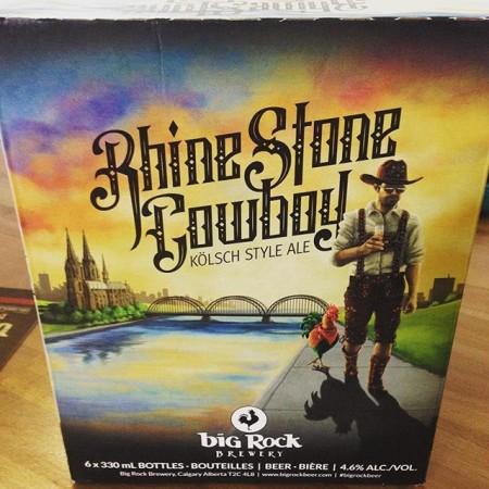 Big Rock Rhine Stone Cowboy Available in Ontario via Craft Brand Company