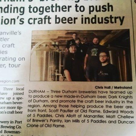 Durham Region Breweries Team Up for Collaborative Beer & Tour