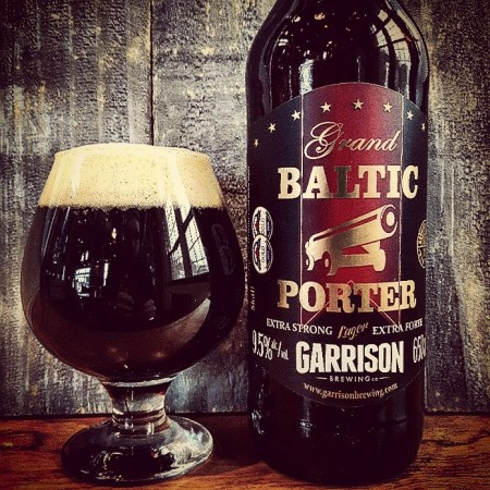 Garrison Cellar Series Continues with Grand Baltic Porter