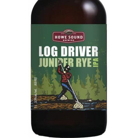 Howe Sound Log Driver Juniper Rye IPA Now Available
