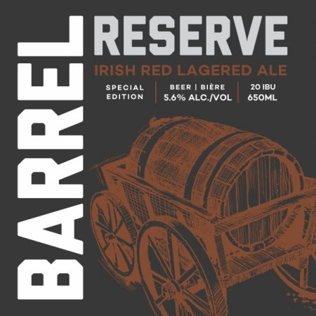 Railway City Barrel Reserve Series Continues with Irish Red Lagered Ale