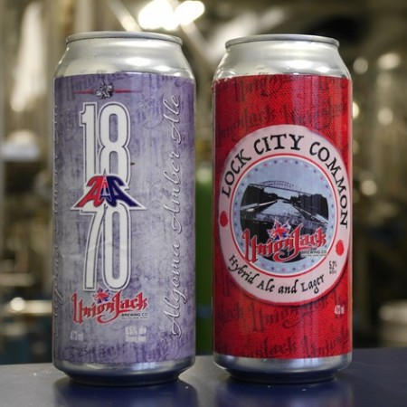 Union Jack Brewing Launches Cans, Plans LCBO & US Distribution