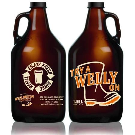 Wellington Brewery Launching Growler Sales Next Week