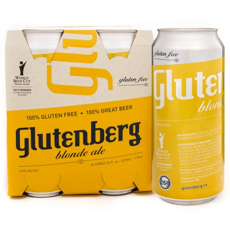 Glutenberg Blonde Now Available at LCBO in Ontario