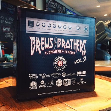 Parallel 49 Releases Brews Brothers Vol. 2 Collaboration Mixer Pack