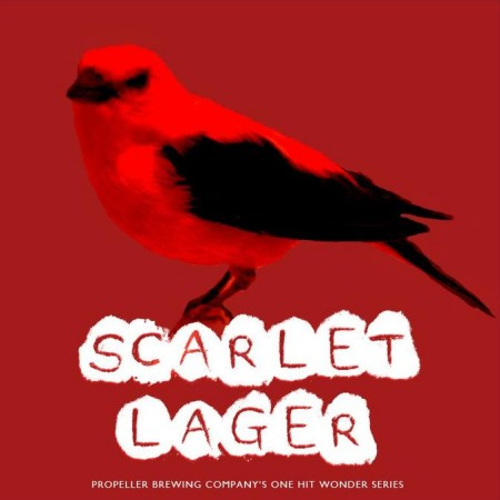 Propeller One Hit Wonder Series Continues with Scarlet Lager