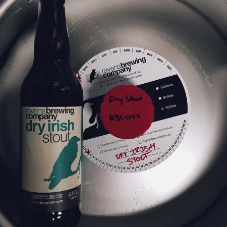 Ravens Brewing Dry Irish Stout Now Available