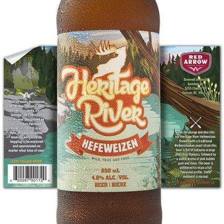 Red Arrow Heritage River Hefeweizen Returns