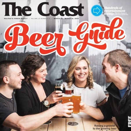 The Coast Beer Guide Issue for 2016 Out This Week