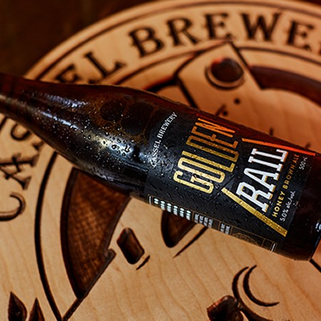 Cassel Launches New Look for Golden Rail Honey Brown Ale