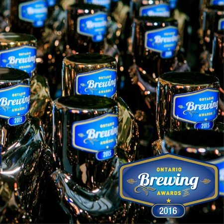 Winners Announced for Ontario Brewing Awards 2016