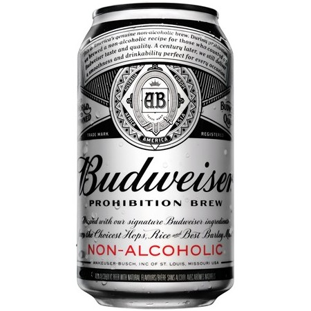 Non-Alcoholic Budweiser Prohibition Brew Makes Global Debut in Canada