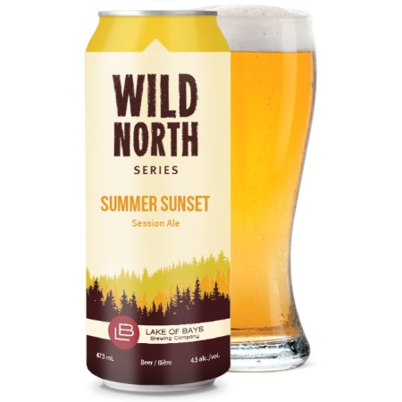 Lake of Bays Continues Wild North Series with Summer Sunset Session Ale