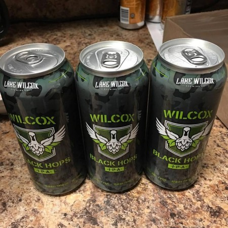 Lake Wilcox Black Hops Black Belgian IPA Now Available