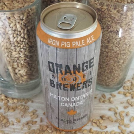 Orange Snail Brewers Releasing Iron Pig Pale Ale in Cans