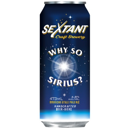 Sextant Craft Brewery Releases Why So Sirius? Pale Ale