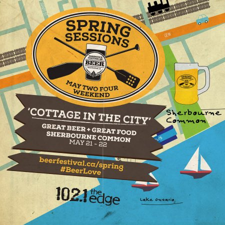 Contest: Win Tickets to Toronto's Festival of Beer Spring Sessions 2016